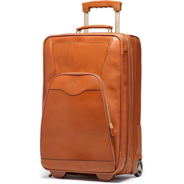 Ghurka Rolling Leather Luggage