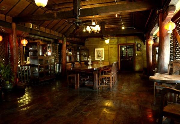 Inside Jesuit House of 1730 in Cebu