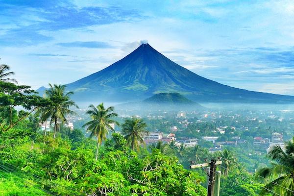 Mayon Volcano in Legazpi Albay