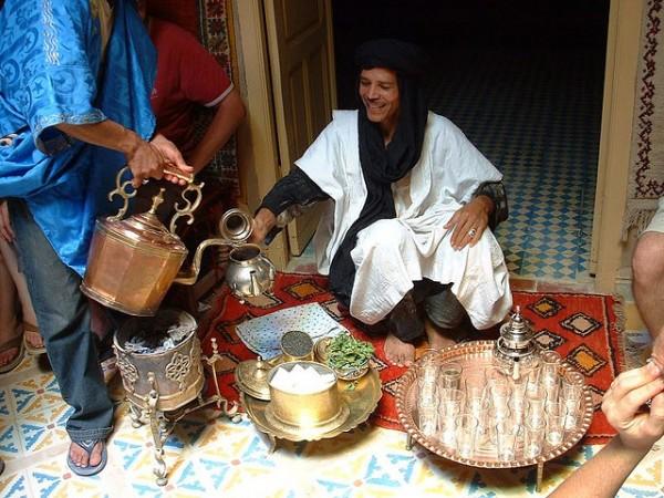 Moroccan mint tea photo by Kris Roger