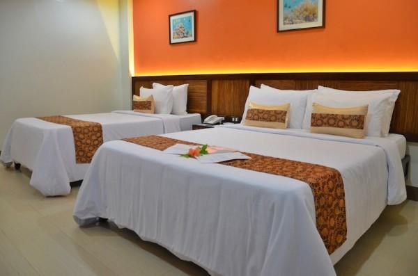 Our Room at Bohol Beach Club