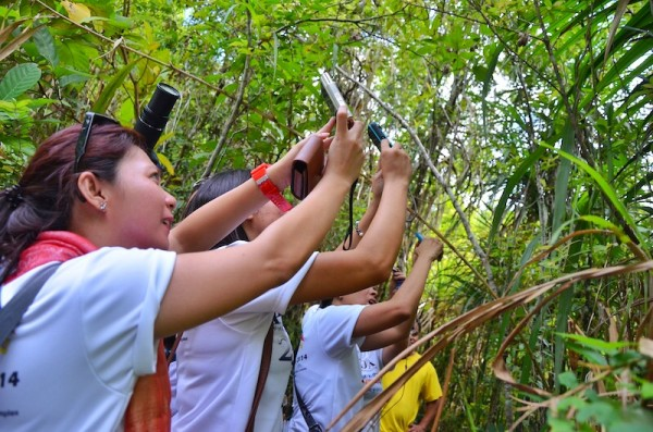 PHILTOA Members inside Philippine Tarsier Sanctuary