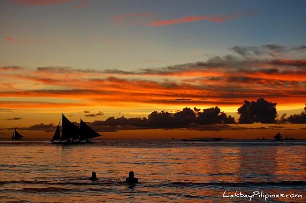 Romantic Sunset in Boracay
