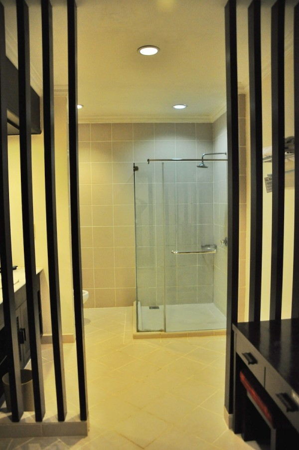 Spacious Bathroom at Lake Kenyir Resort and Spa