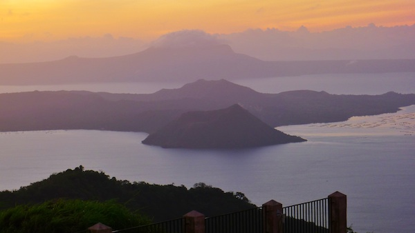 Sunset in Tagaytay