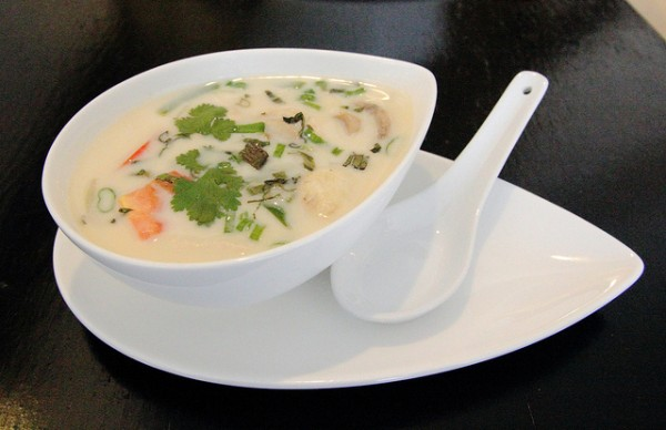 Tom Kha Gai photo by Renee Suen