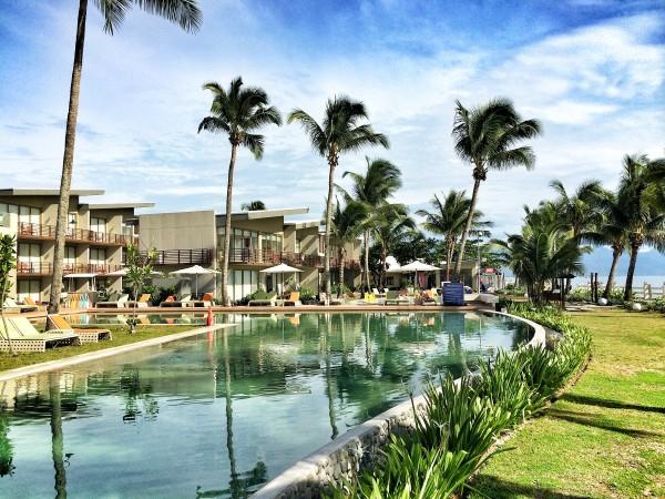 Costa Pacifica Baler Poolside