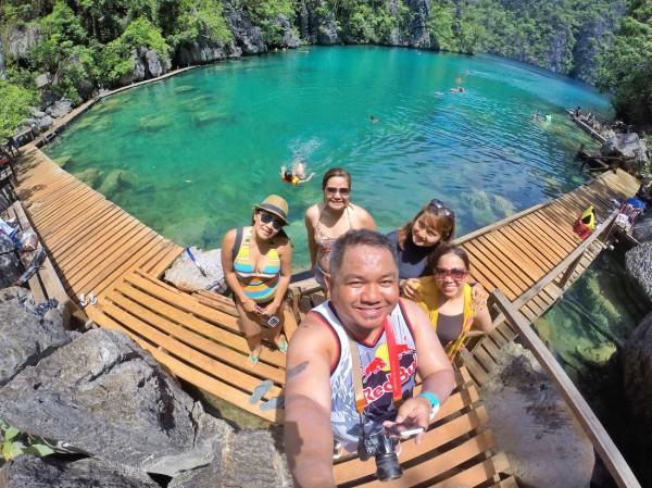 Group Shot in Kayangan Lake