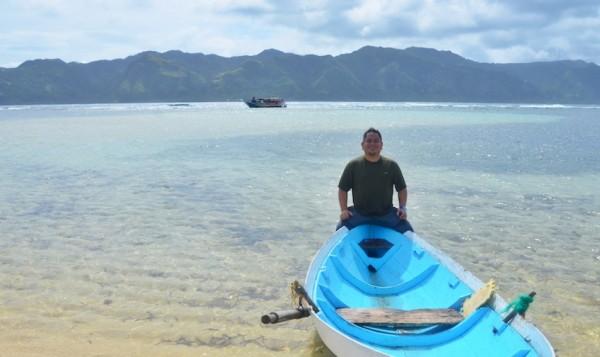 Melo Villareal in Vuhus Island Batanes