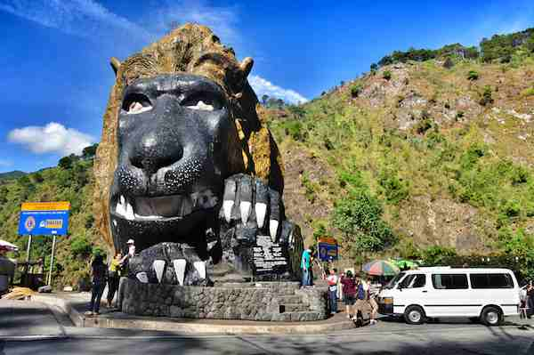 The Lion Head Baguio City