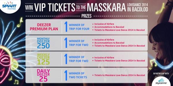 Win VIP tickets to Masskara Love Dance 2014