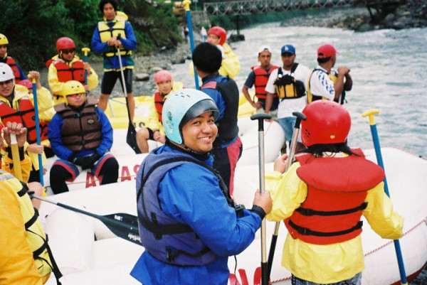 Chico River Quest Whitewater Rafting 2003