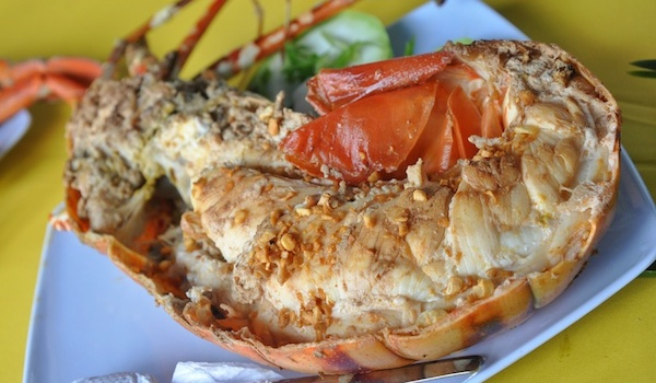 Grilled Lobster in Sorsogon