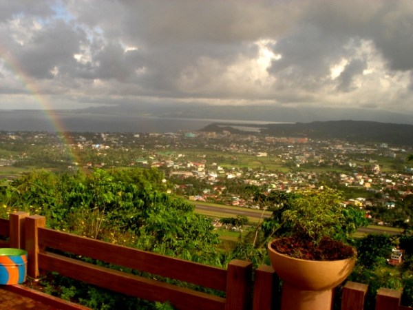 View from Ligñon Hill