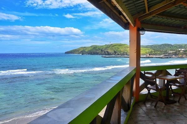 View from Octagon Restaurants Veranda