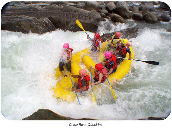 Whitewater Rafting adventure in Kalinga