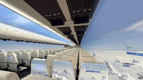Windowless Planes