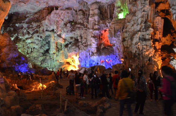 Beautiful Formations inside the Cave