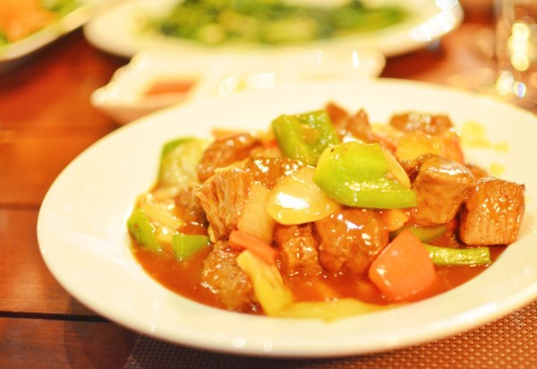 Beef in Spicy Tomato Sauce