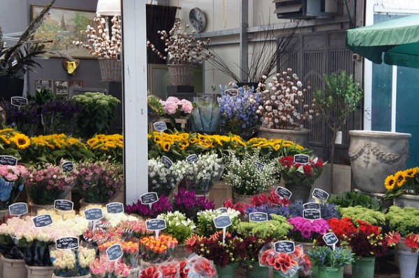 Flower Market in Amsterdam by Chris via Flickr