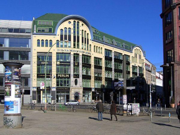 Hackescher Markt by Times via Wikipedia CC