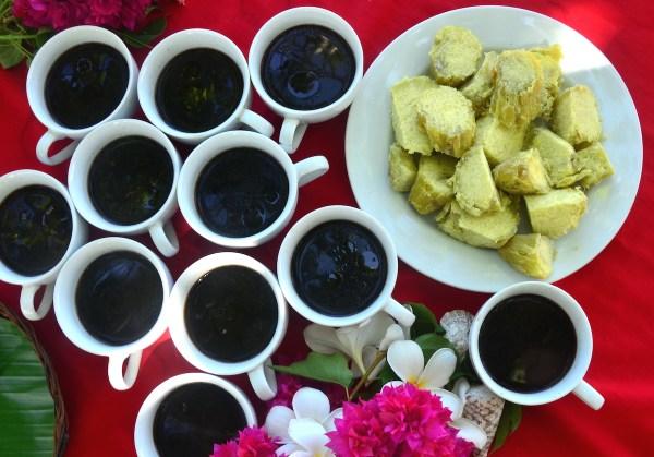 Kamote and Corn Coffee