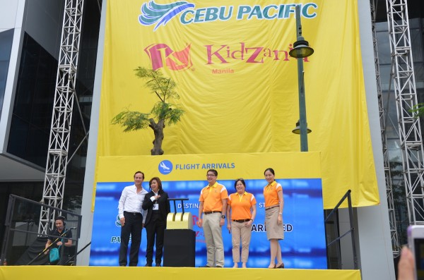 Kidzania Manila in partnership with Cebu Pacific