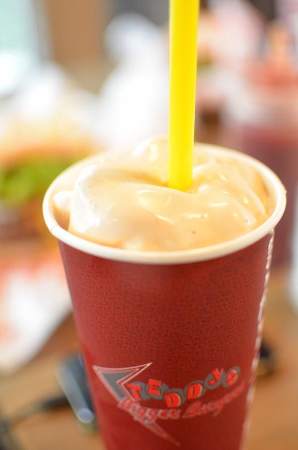 Strawberry Peanut Butter Milkshake
