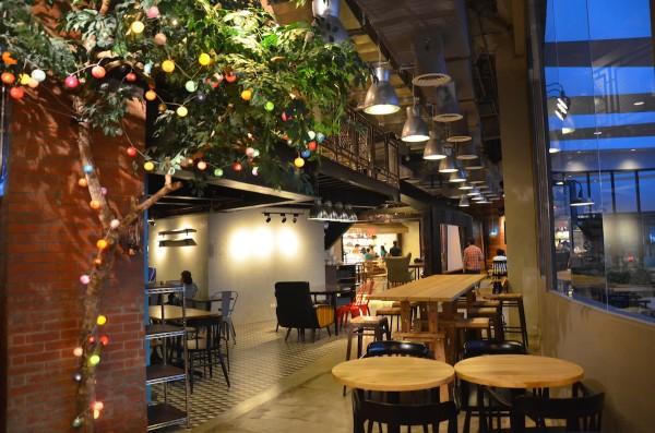 Upscale Food Court in Makati