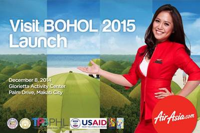 Visit Bohol 2015 Launch in Makati City