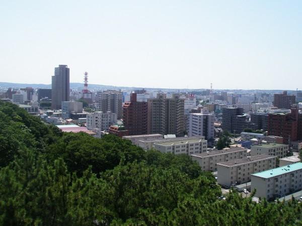 Akita City in Japan