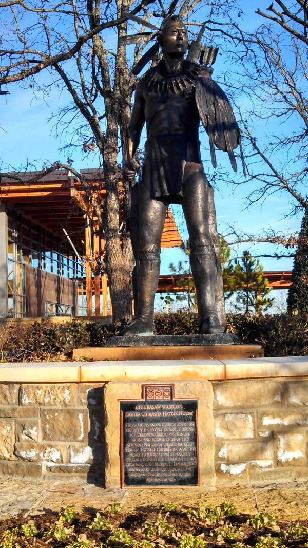Chickasaw cultural center by Phoebe - Own work. Licensed under CC BY-SA 3.0 via Wikimedia Commons