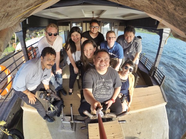 Group GoPro Shot before leaving the Boathouse