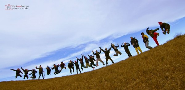 Jump Shot in Mount Pulag photo by Paul Louie Serrano