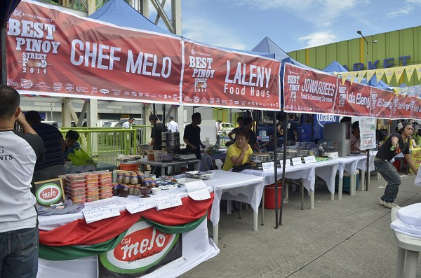 The best street food vendors come together for the best    Pinoy street food fair.