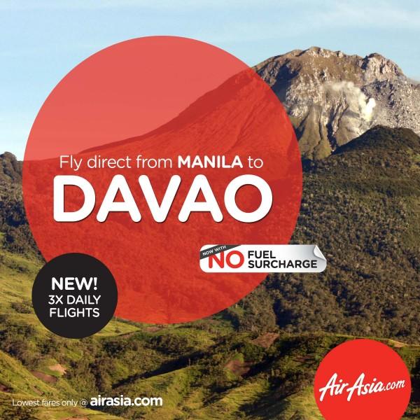 AirAsia Manila Davao Flights