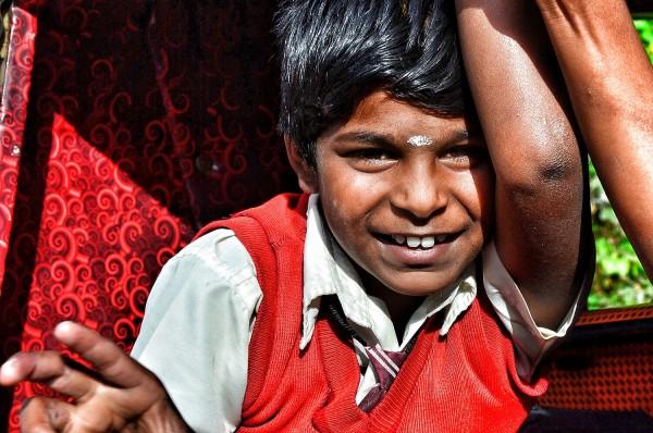 Friendly Kids in Munnar