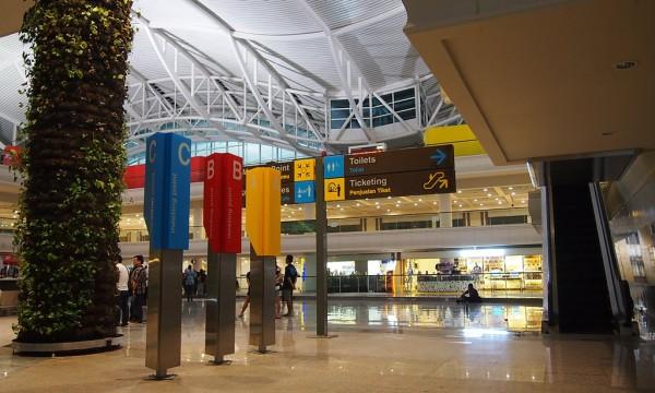 Inside Denpasar International Airport
