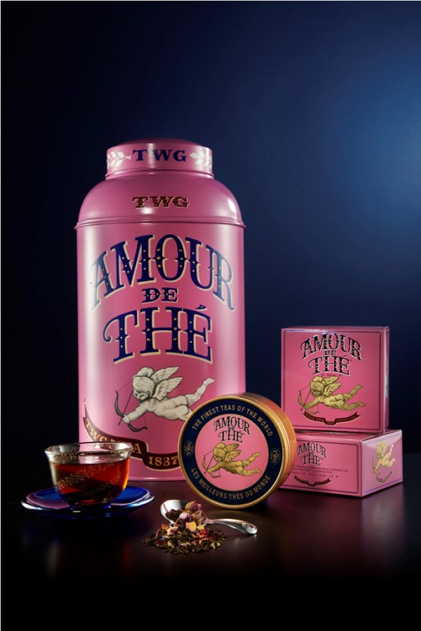 TWG Tea Amour de The Caviar Tin Tea