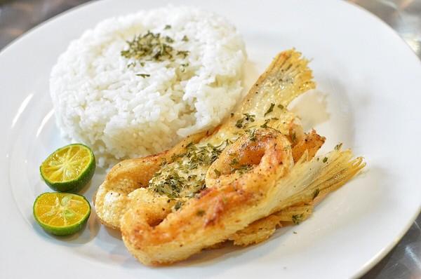 Crispy Fried Salmon