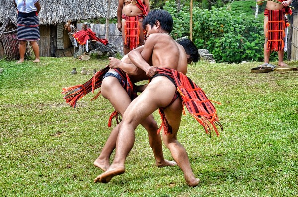Ifugao Ethnic Games at Banaue Ethnic Village and Pine Forest Resort