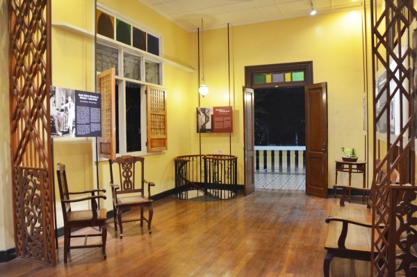 Inside Quezon Heritage House in Quezon City Circle