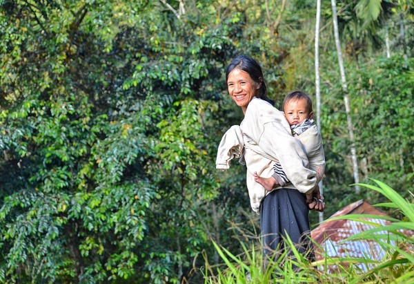 Mother and Child in Kiangan