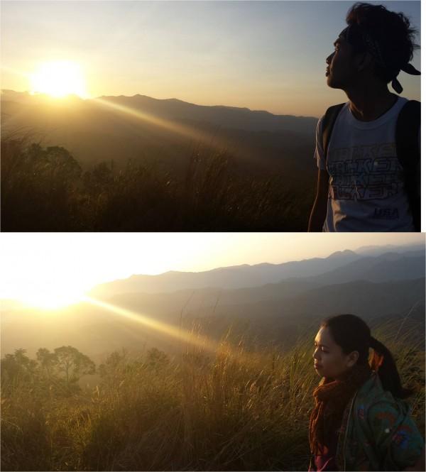Sunrise in Mt Balabag