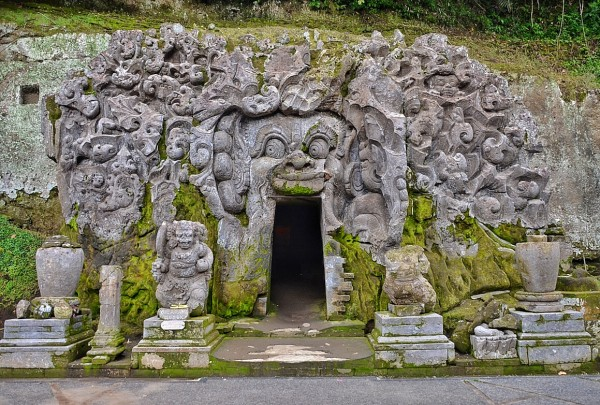 Entrance to the Elephant Cave or Goa Gajah