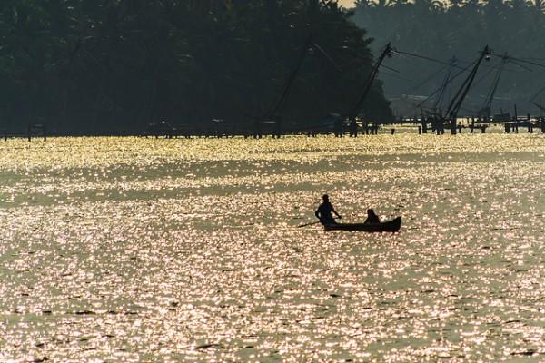 Fishing in Kerala by Thangaraj Kumaravel via Flickr