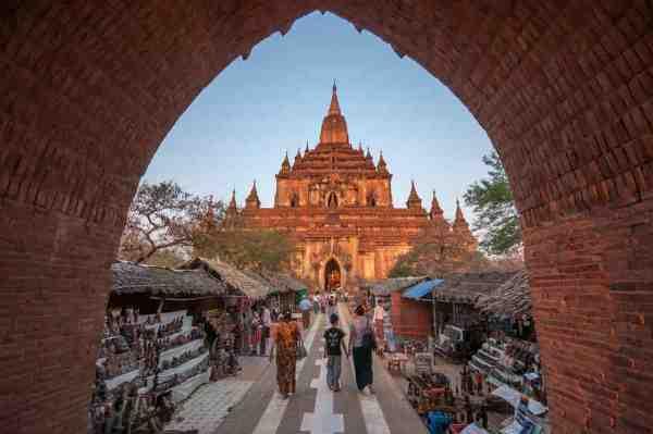 Htilominlo Temple in Myanmar