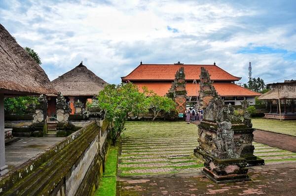 Inside Batuan Hindu Temple