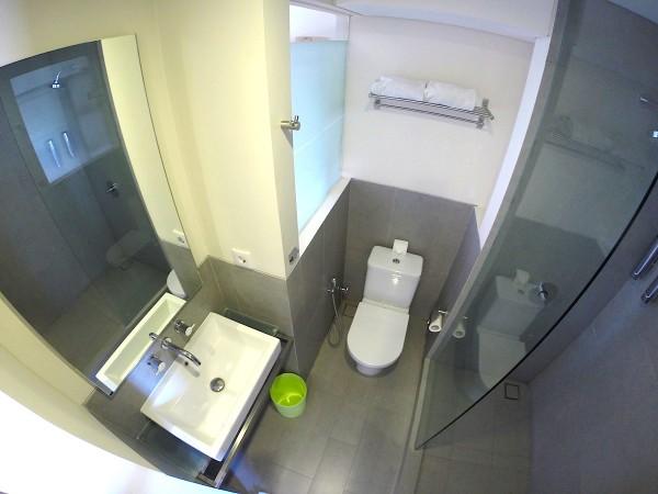 Inside the bath room