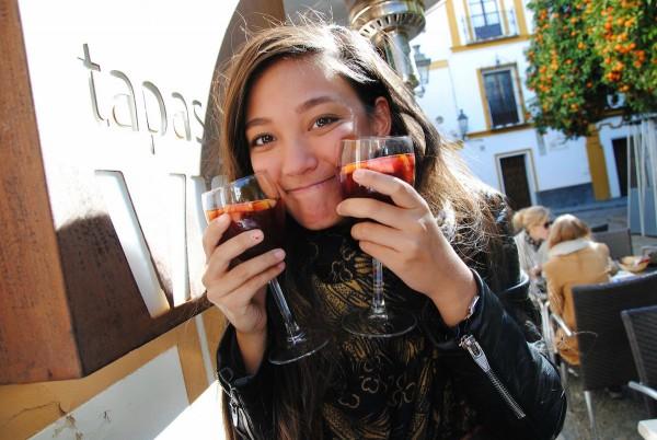 Sangrias in Sunny Sevilla